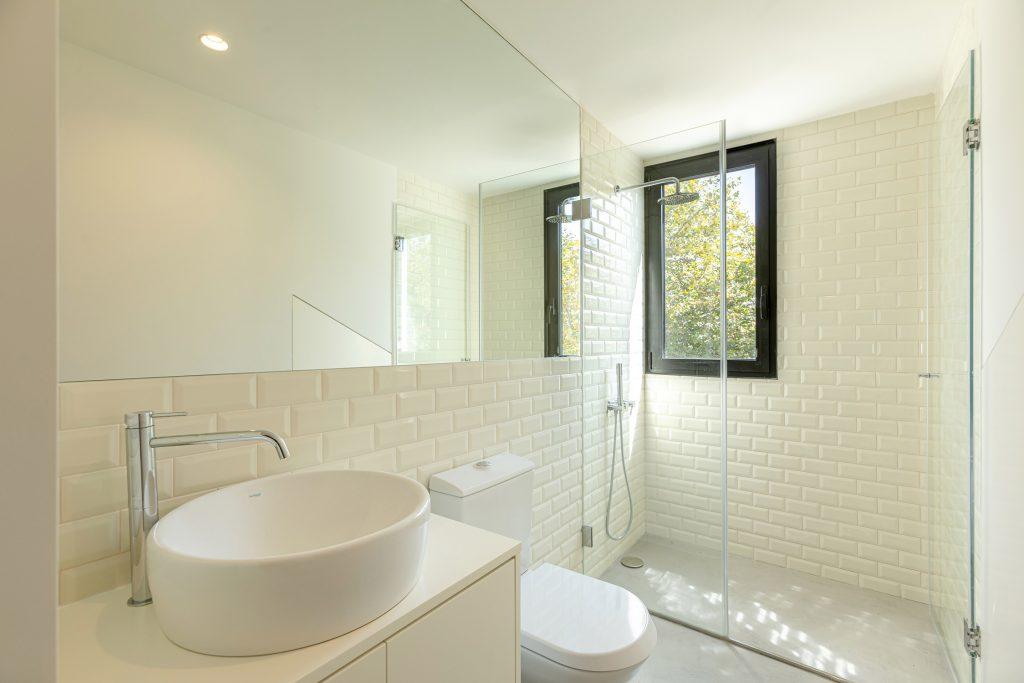 casa de banho branca