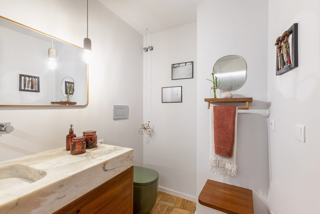 casa de banho renovada