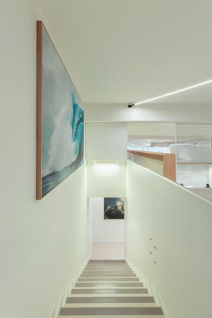 escadaria de escritorio