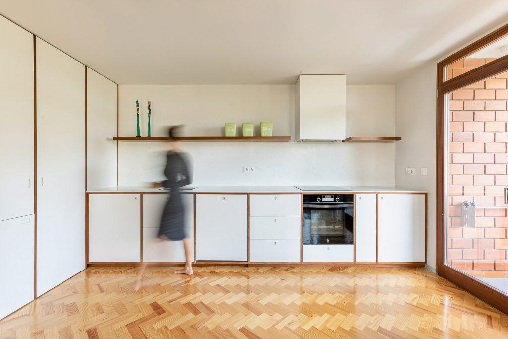 fotografia de cozinha open space