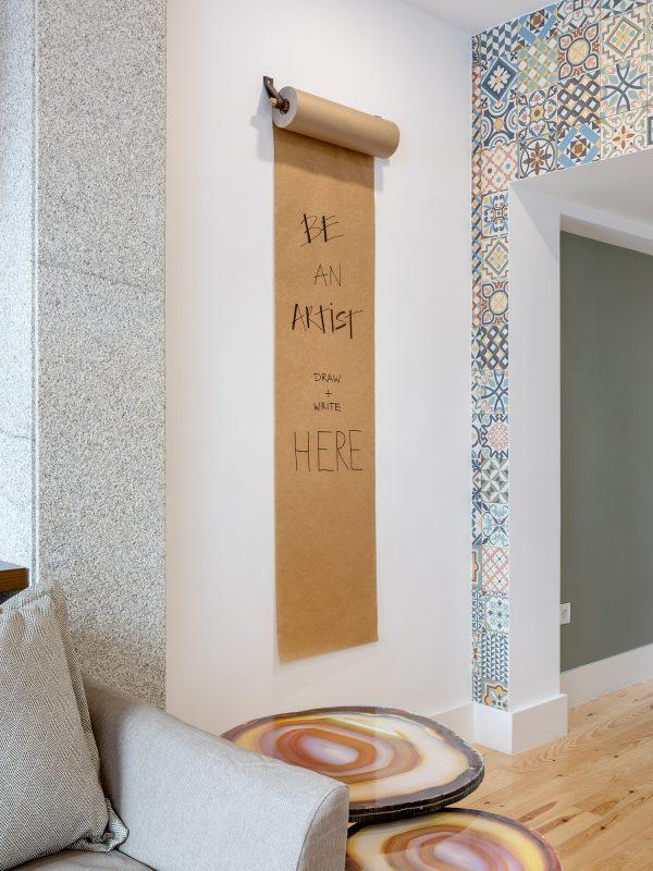 pormenor de decoracao de sala de estar