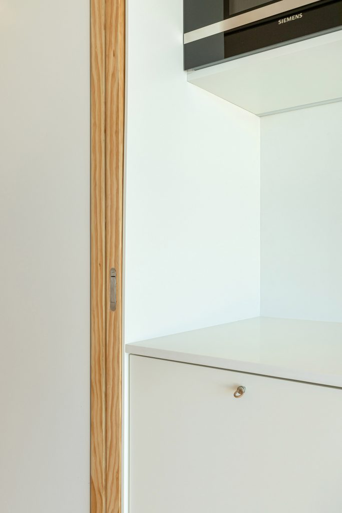 Pormenor armarios de cozinha
