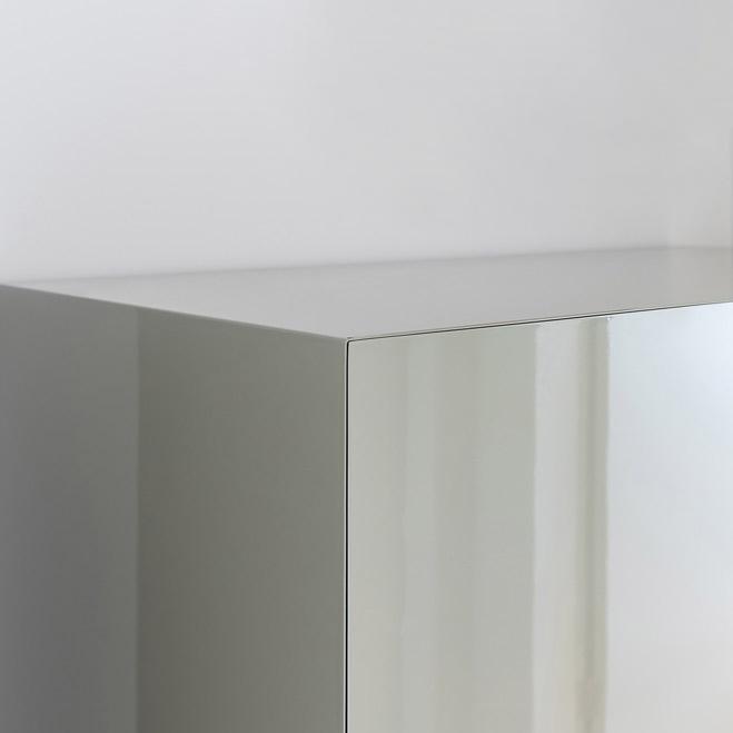 pormenor linhas armario minimalista