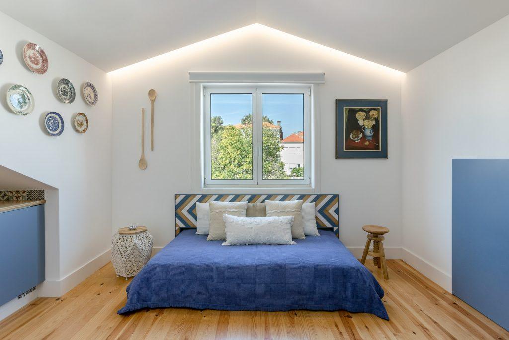 alojamento com sofa cama